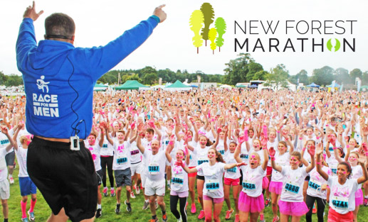 Promotiemateriaal new forest marathonPromotiemateriaal new forest marathon