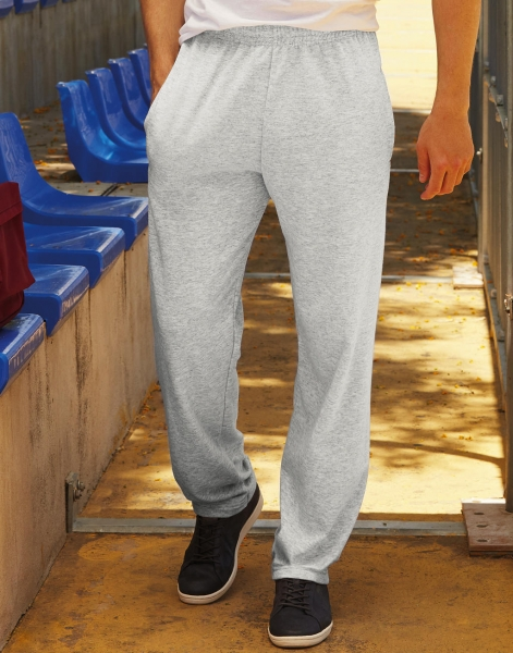 Fruit of the loom sweat pants grijs mannen